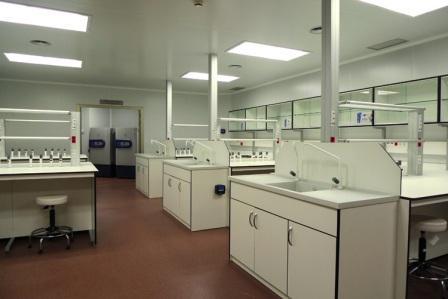 Laboratorio Sala Blanca en UC3M